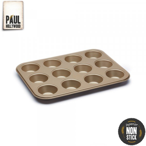 Moule Acier Anti Adh 233 Sif 12 Tartelettes Paul Hollywood