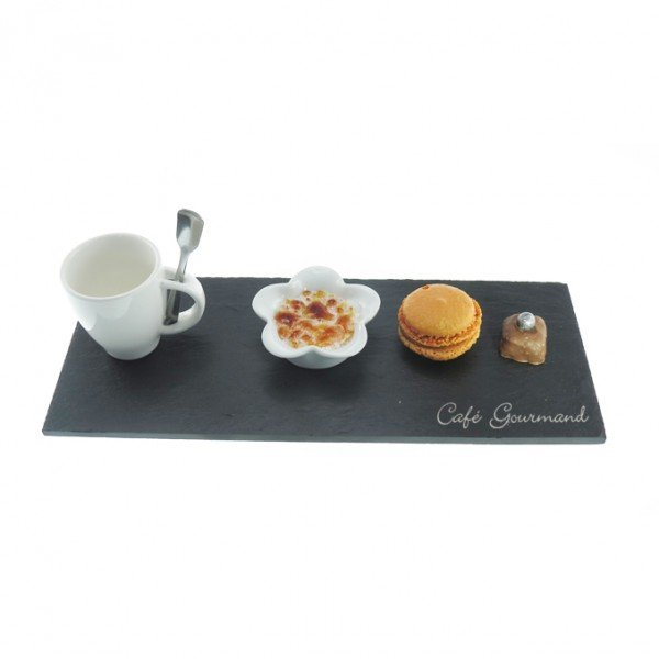 Caf gourmand 2 personnes lebrun - Assiette rectangulaire pour cafe gourmand ...