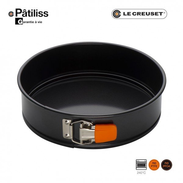 moule manqu rond fond amovible p tiliss le creuset. Black Bedroom Furniture Sets. Home Design Ideas