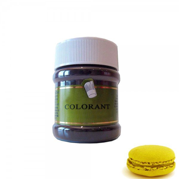 colorant alimentaire poudre jaune 50g slectarme - Colorant Alimentaire Jaune