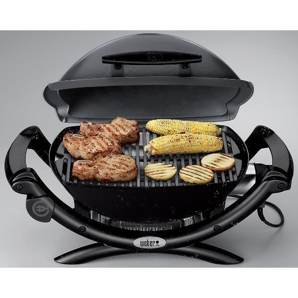 barbecue electrique weber barbecue lectrique weber q2400 noir esprit barbecue barbecue weber. Black Bedroom Furniture Sets. Home Design Ideas