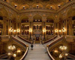 Grand escalier d'apparat de l'Opéra Garnier