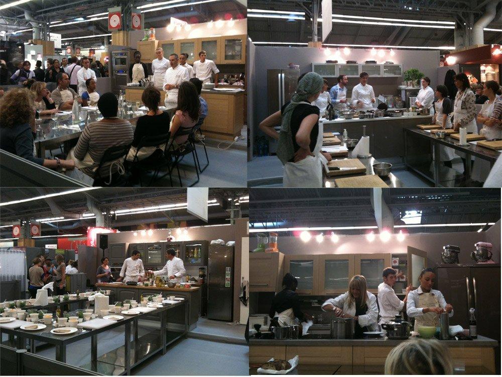 Cuisiner avec cyril lignac au salon cuisinez avec m6 l - Cours de cuisine avec cyril lignac ...