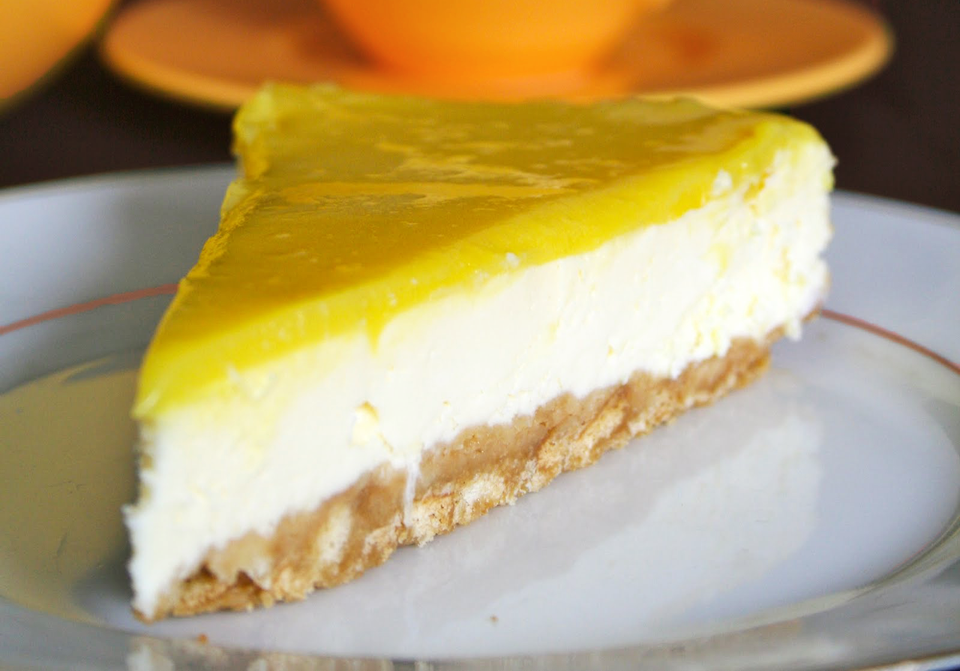 Recette cheesecake citron