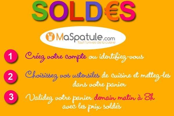 Soldes ustensiles cuisine blog de for Soldes ustensiles de cuisine