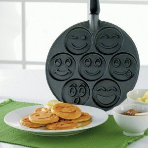 Poele à pancakes Smiley