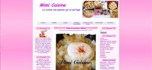 Blog mimi cuisine