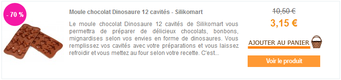 Soldes plaque chocolat Silikomart