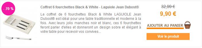 Ustensiles Laguiole Jean Dubost