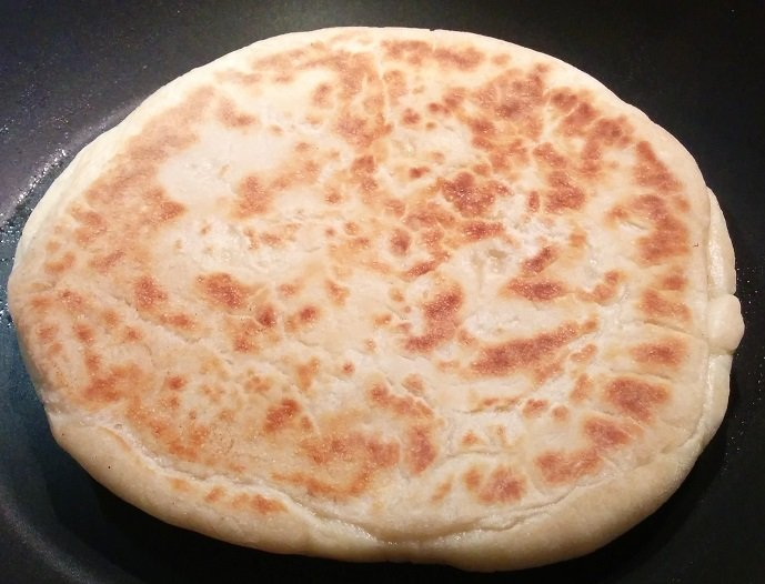 Cheese Naan indien
