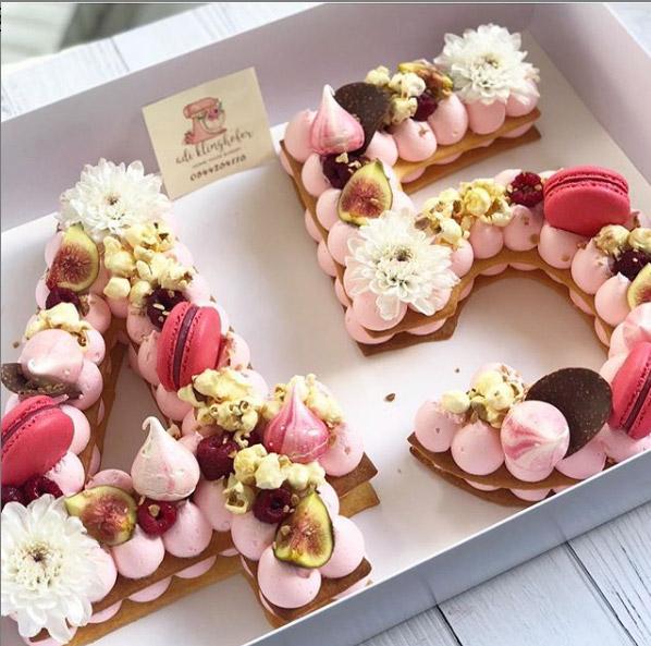 Number cake : Adi Klinghofer