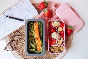 Lunch Box pavé de saumon façon teriyaki