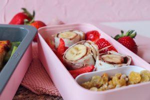 maki chocolat-banane et fraises