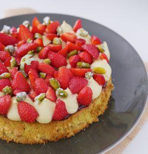 Recette fraise pistache