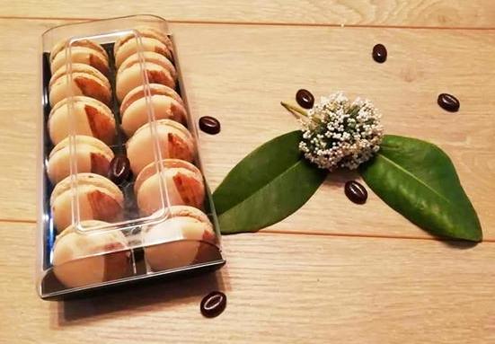 Recette macarons au café