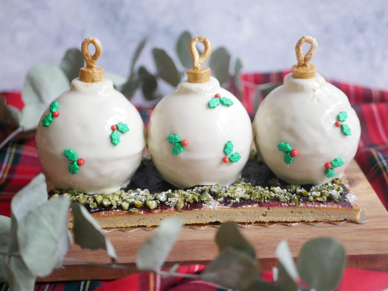 Recette buche boules de Noël