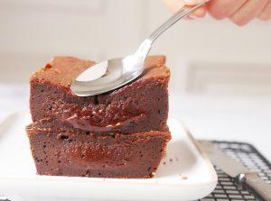 Recette cake fondant au chocolat