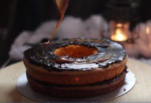 Recette Pinata Cake Halloween