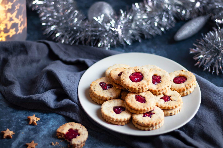 Recette biscuits linzer de Noël