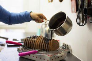 Recette buche Corallo chocolat passion