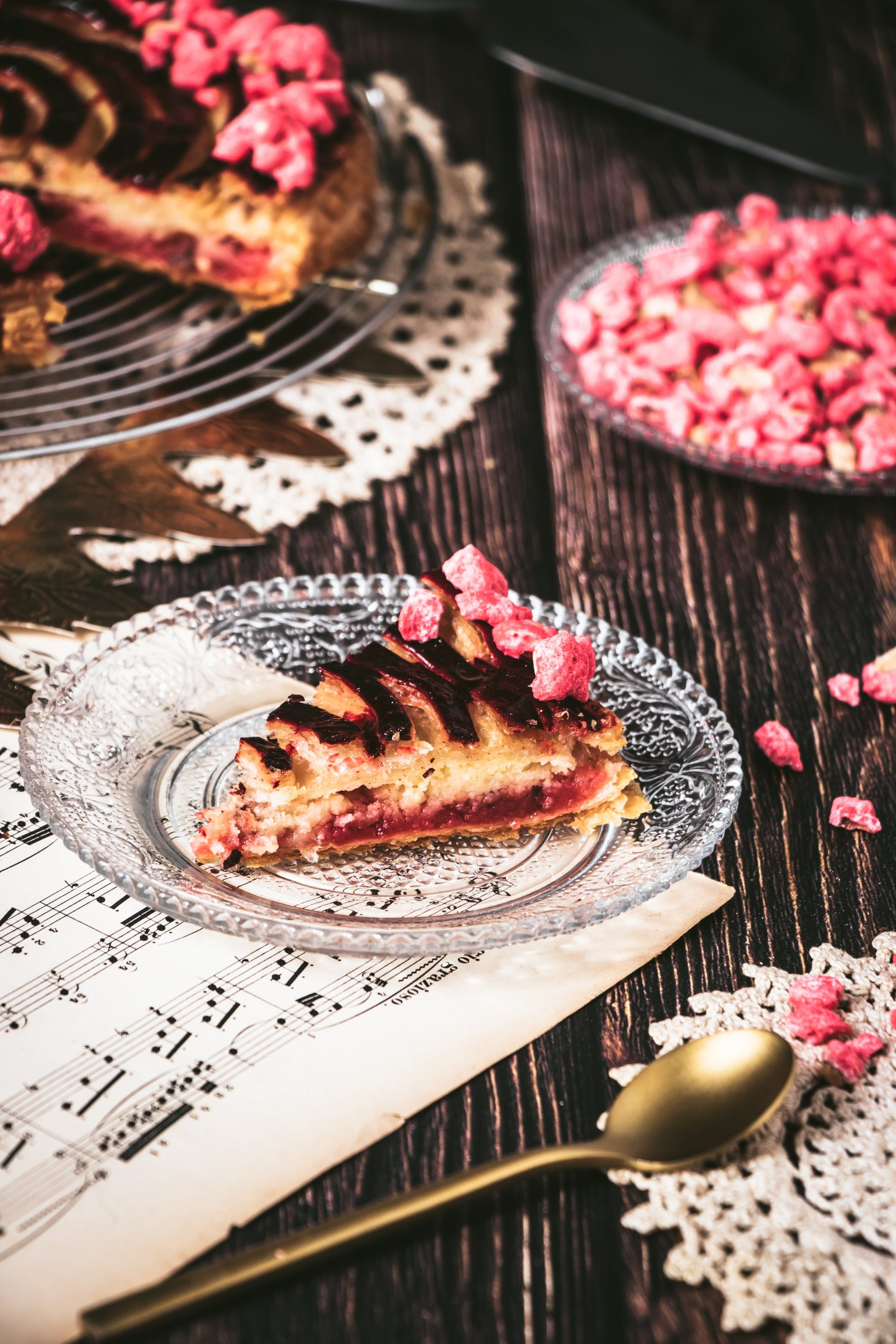 Recette galettes des rois pralines roses