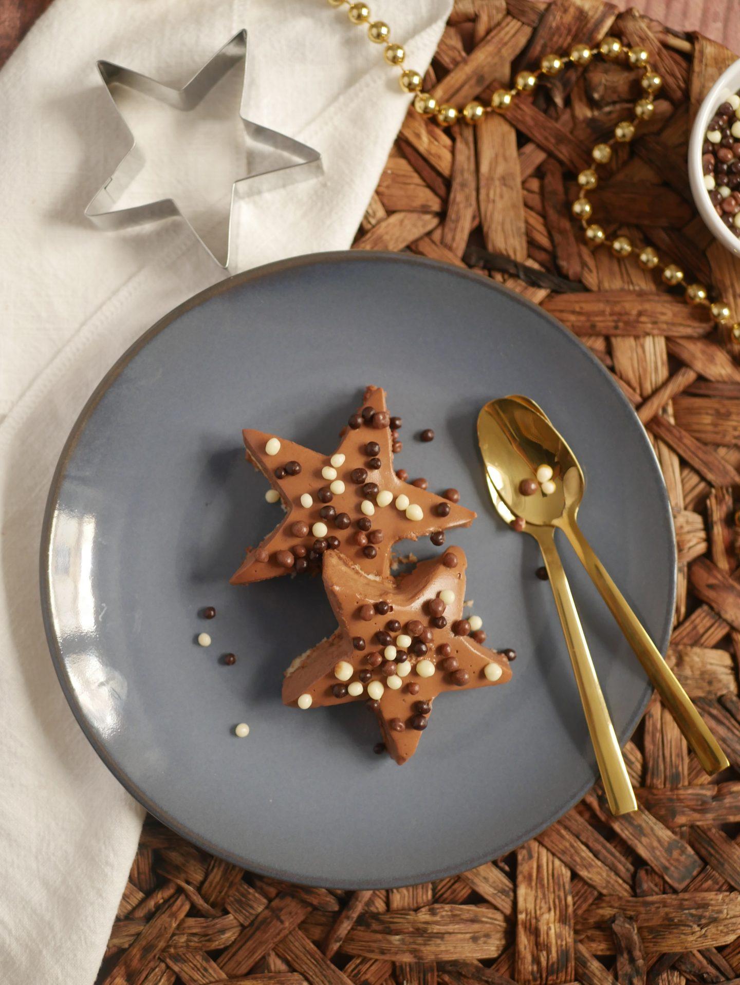 Recette Royal au chocolat étoile