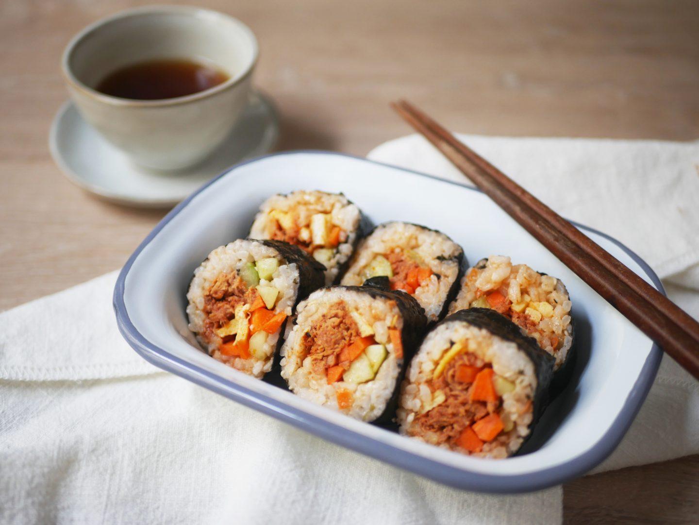 Recette kimbap coréen