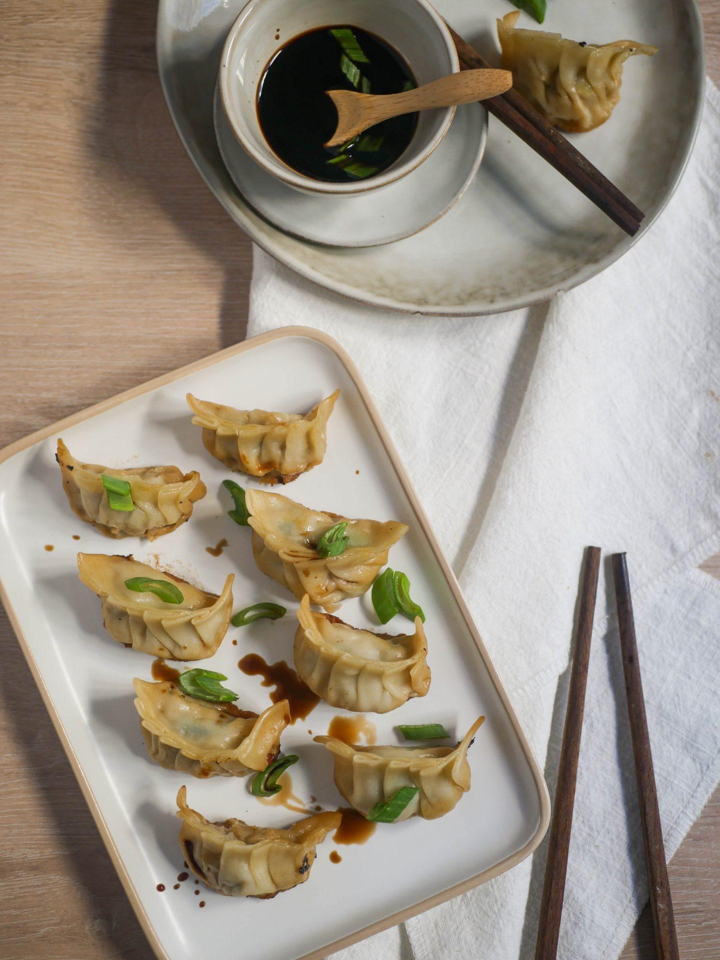 recette gyoza raviolis japonais