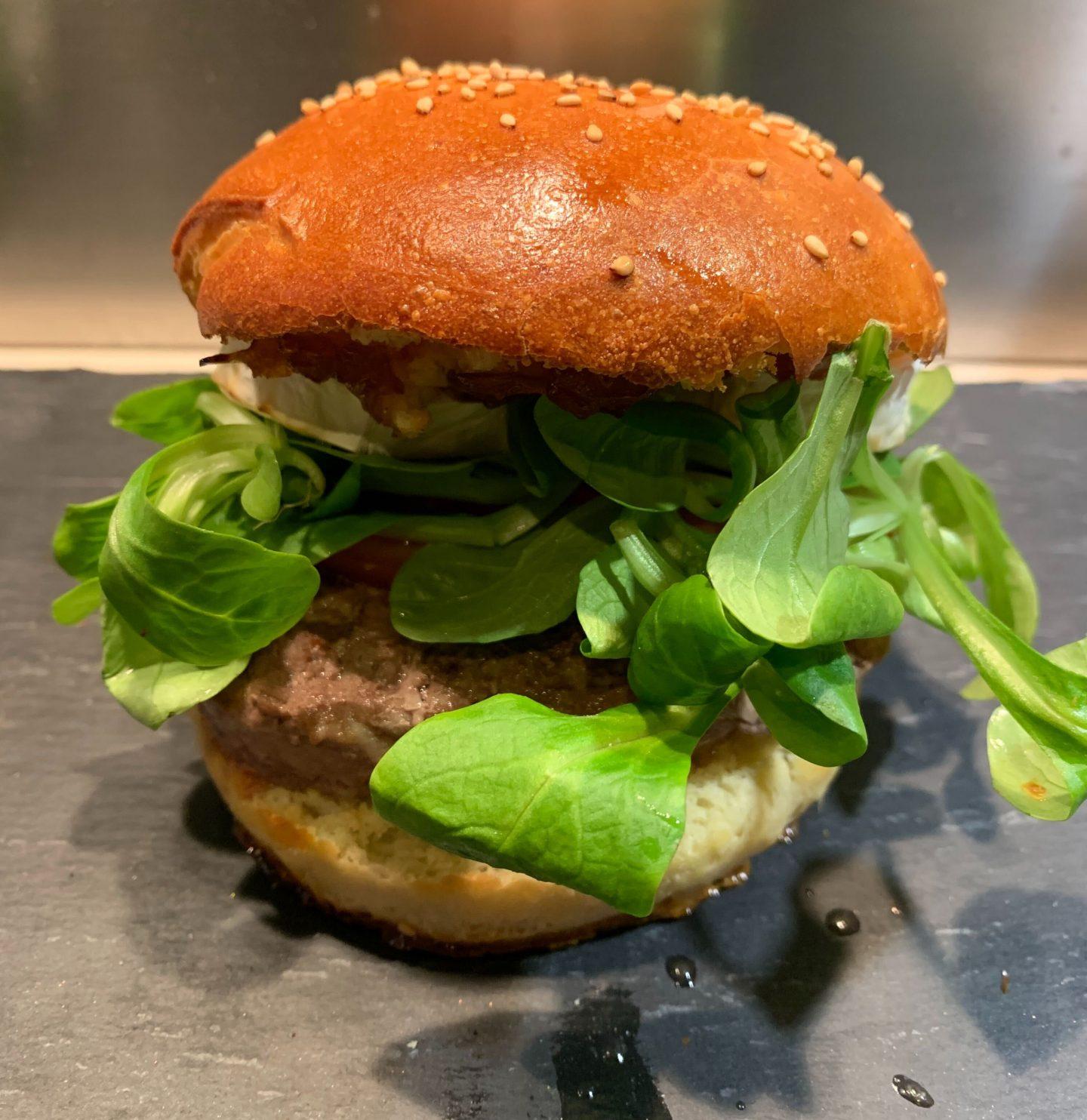 recette pain burger