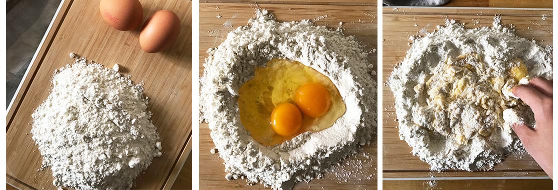 recette pates fraiches maison