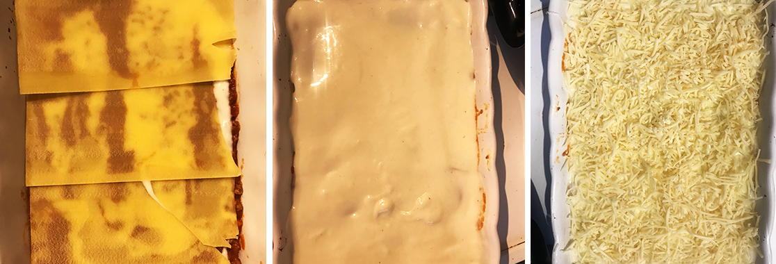 slider x3 montage lasagnes