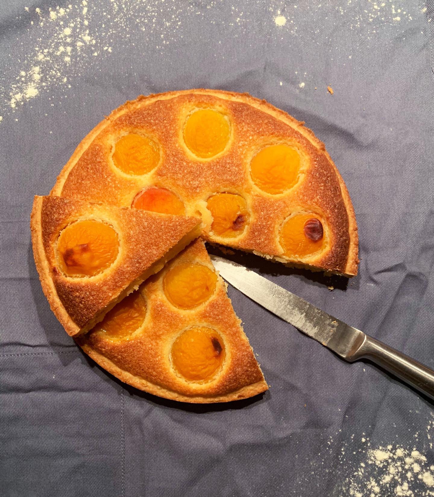 tarte amandine abricot