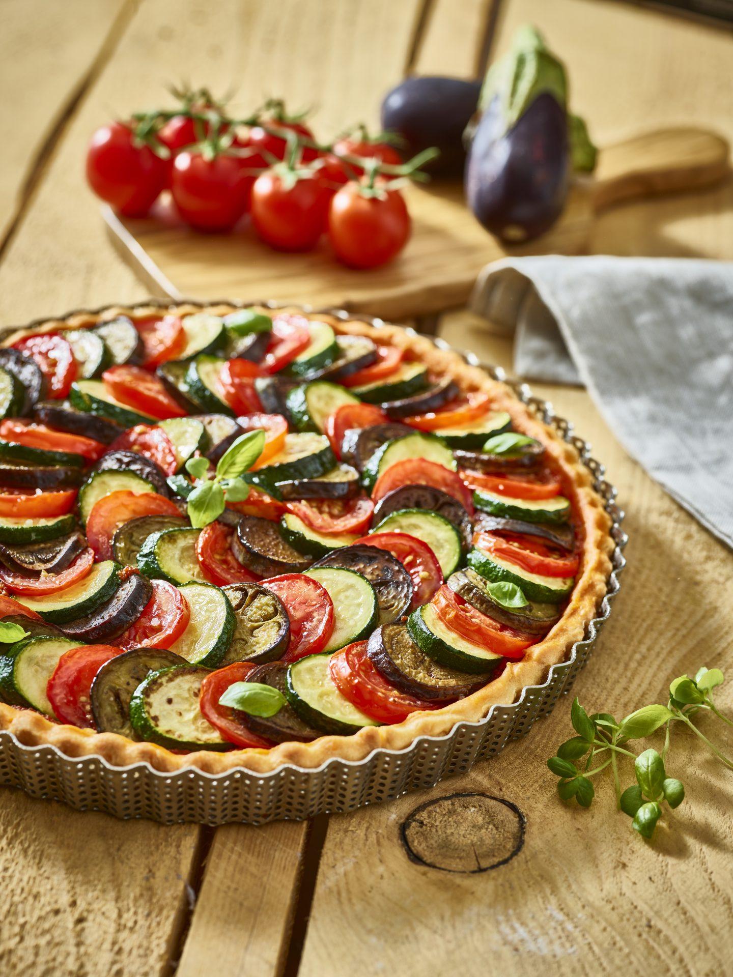 Recette Tarte aux légumes façon tian