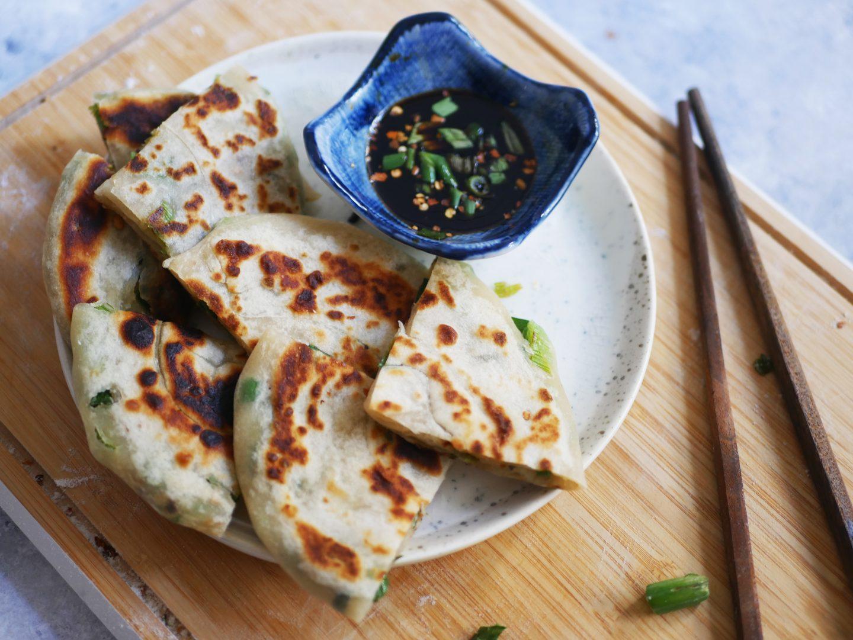 recette crêpe chinoise à la ciboule