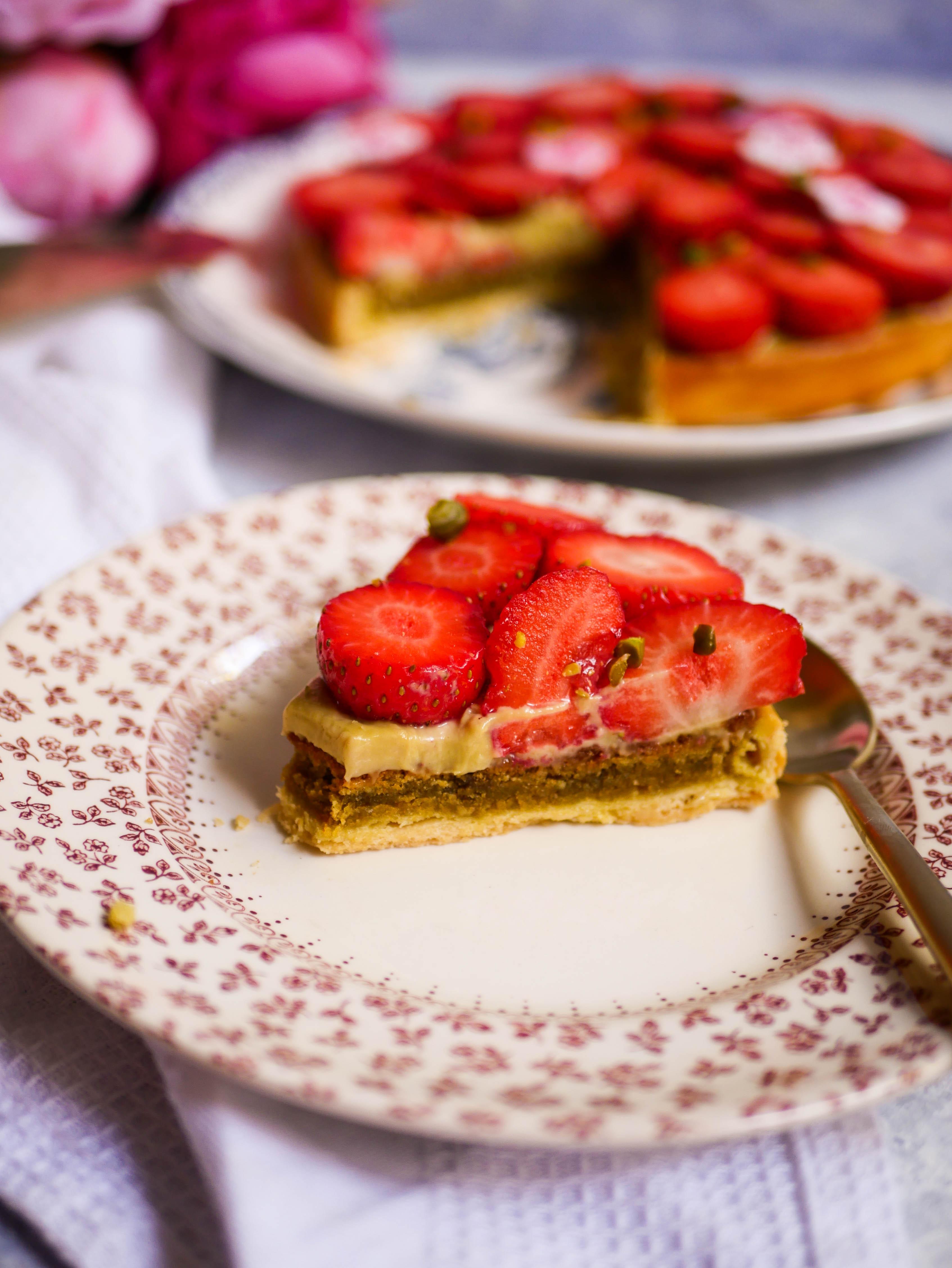 tarte aux fraises fete des meres