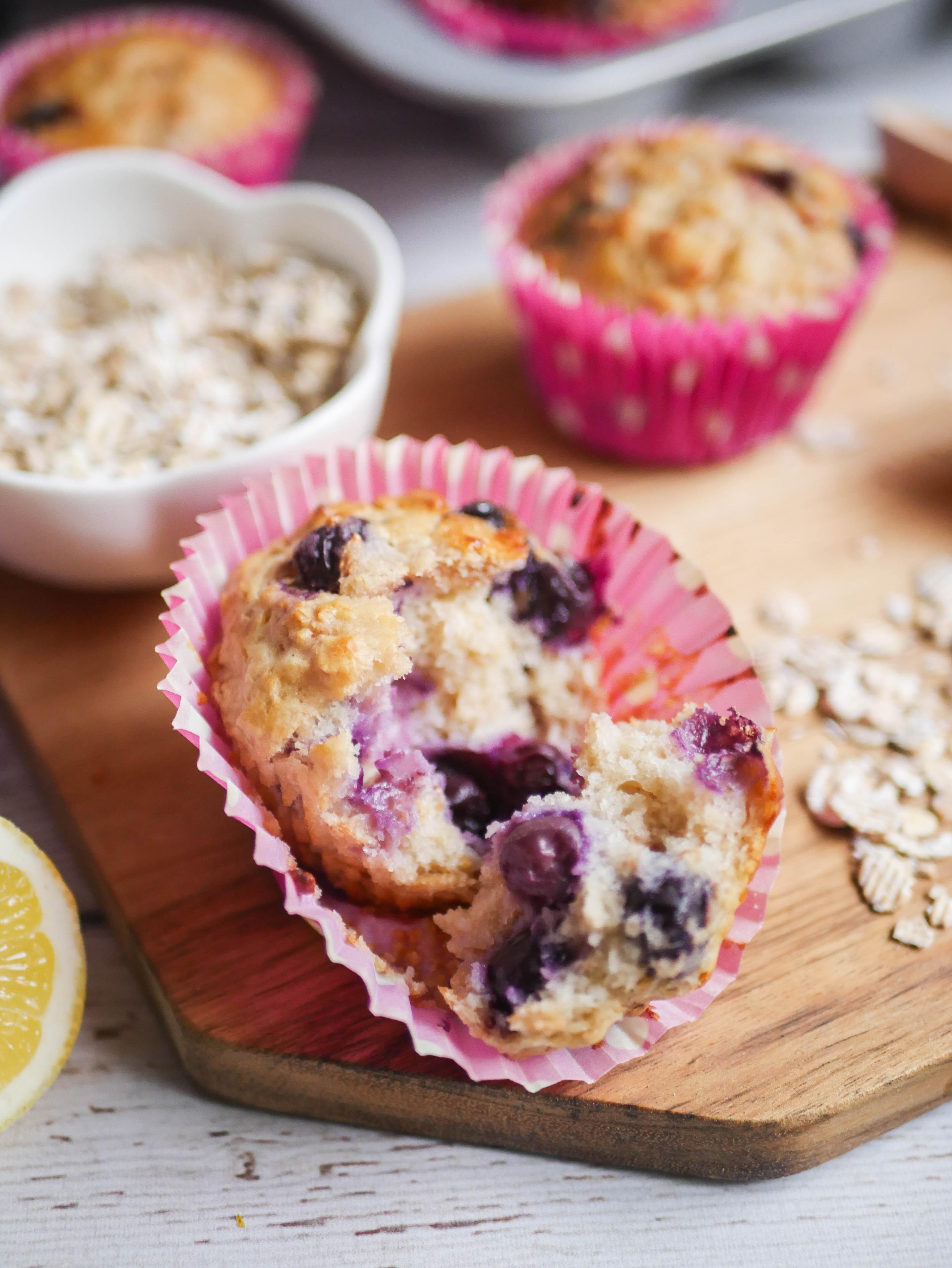 healthy muffins avoine