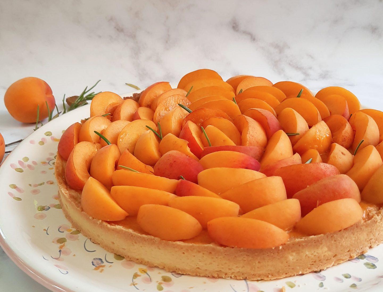 recette tarte abricot romarin