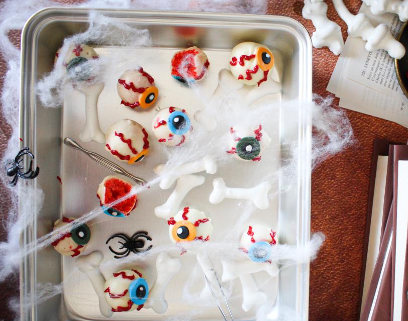 pop cakes halloween