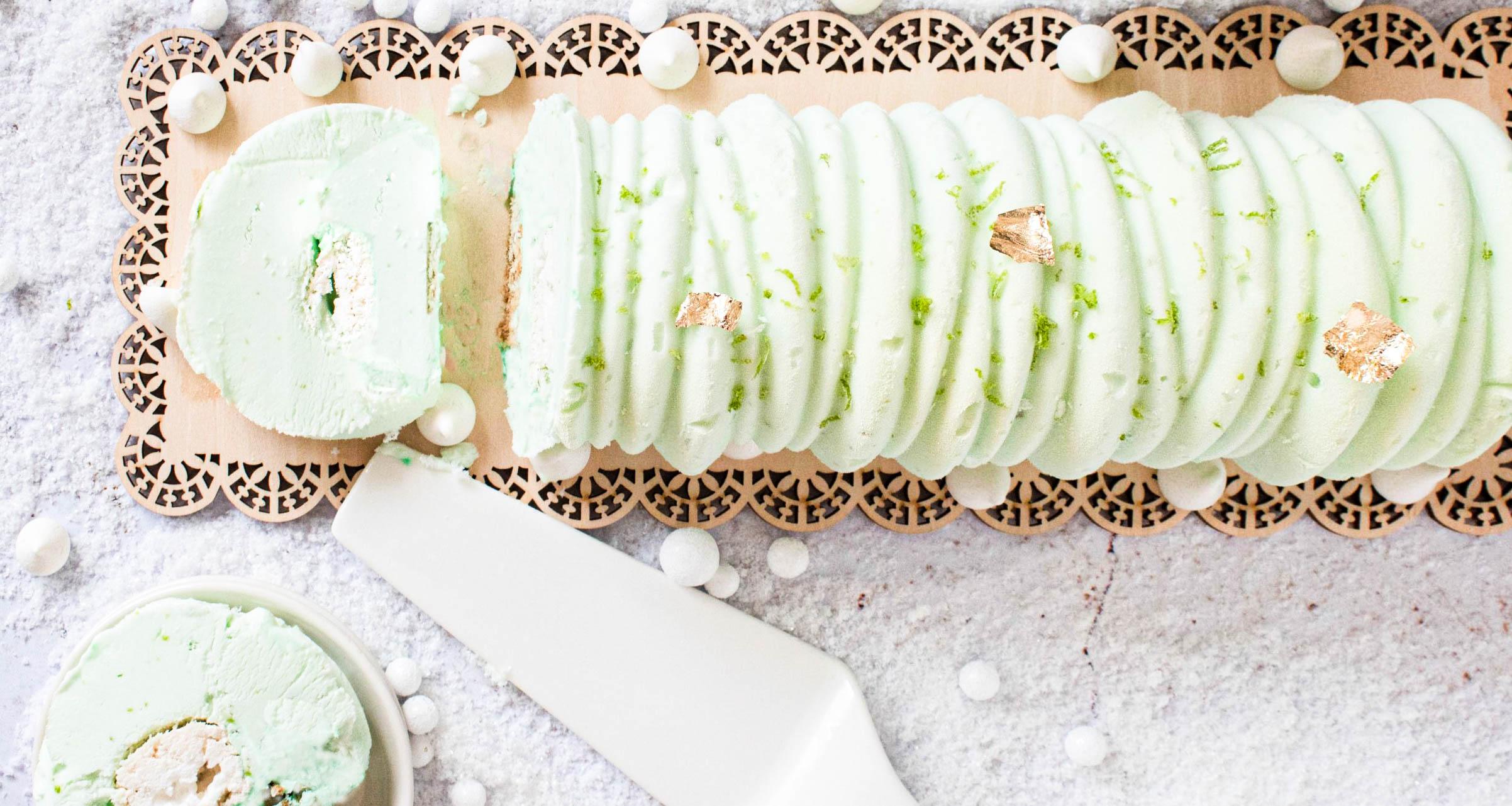 buche glacée coco citron
