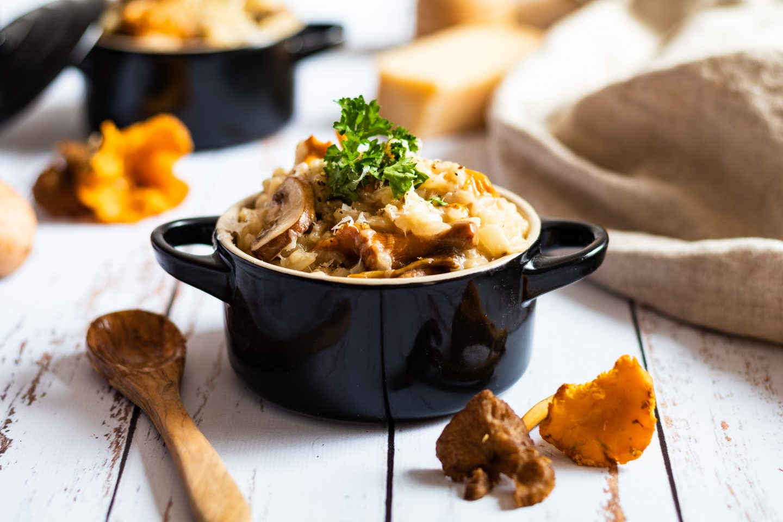 Recette de risotto aux champignons l'article idées menu pour vos repas de fête 2020