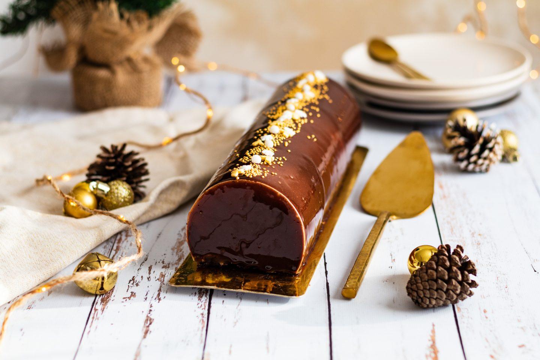 Recette bûche de Noël chocolat et vanille l'article idées menu pour vos repas de fête 2020