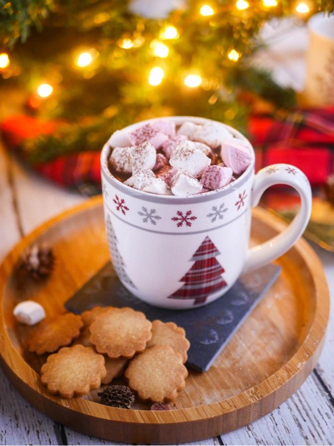 Recette chocolat chaud de Noël