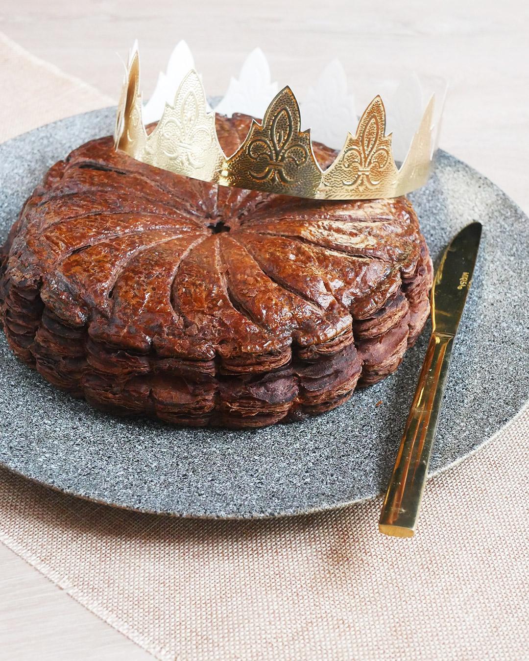 Recette galette des rois pâte feuilletée chocolat
