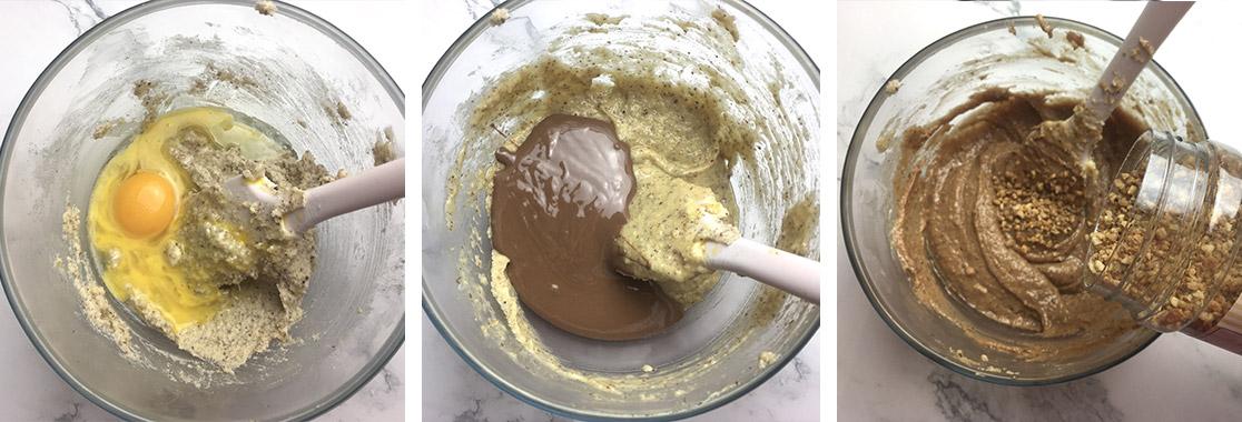 Galette chocolat praliné