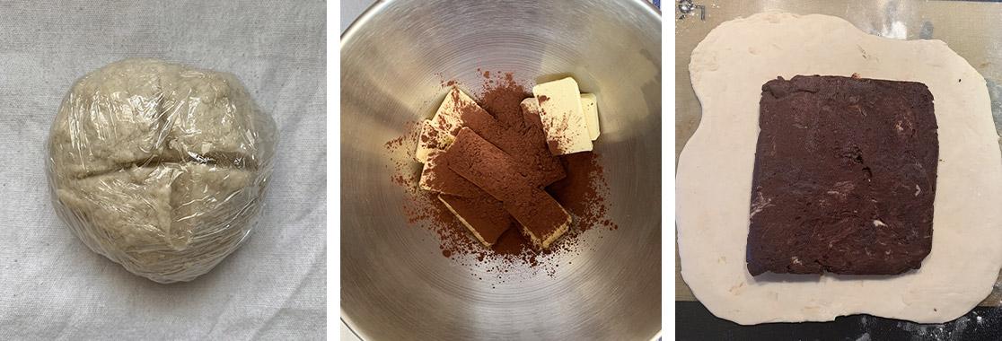 Recette galette des rois pâte feuilletée au chocolat