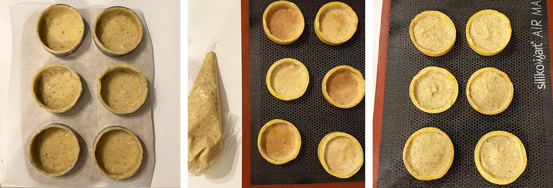 Recette tartelettes au citron et bergamote