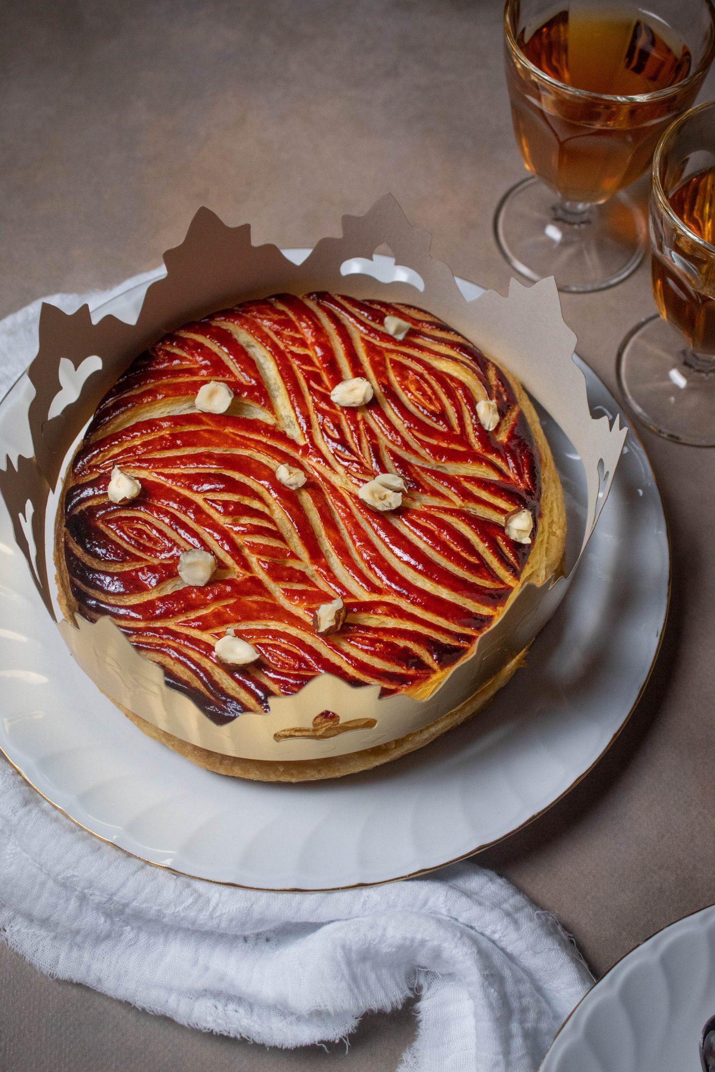 Recette galette chocolat praliné