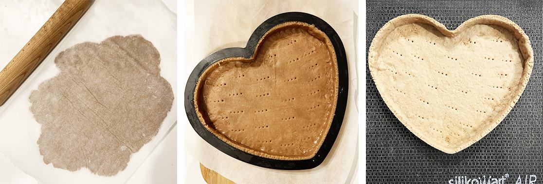 Recette Entremets Saint Valentin chocolat et griotte