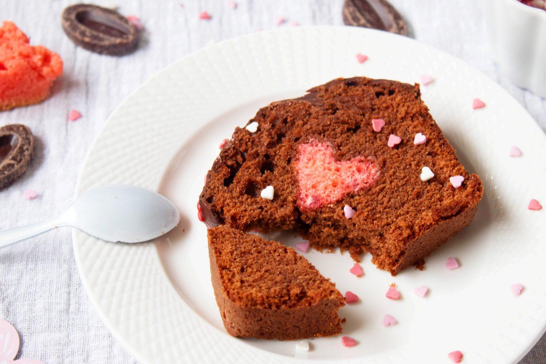 Recette Cake surprise Saint-Valentin
