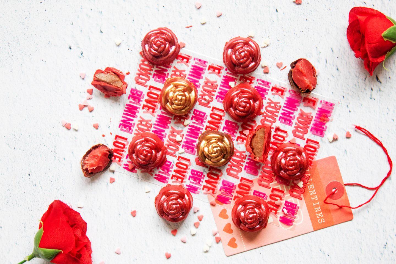 Recette Chocolats maison Saint-Valentin